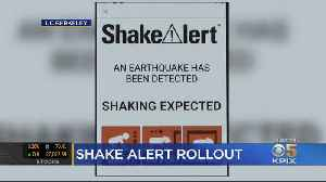 State Launches New Shake Alert App On Anniversary Of Loma Prieta Earthquake [Video]