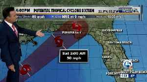 News video: Potential Tropical Cyclone Sixteen