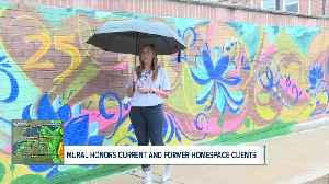 Mural honors past and present clients at Home Space in Buffalo [Video]