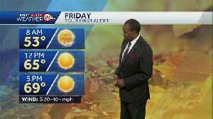 Warmer, windy for your Friday [Video]
