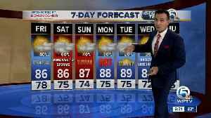 Latest Weather Forecast 6 p.m. Thursday [Video]