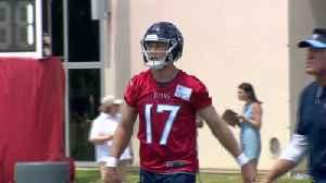 Tannehill Names Titans Starter [Video]