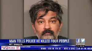 Police identify quadruple murder suspect who turned himself over to Mt. Shasta Police [Video]