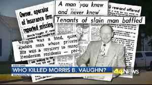 COLD CASE MORRIS VAUGHN [Video]