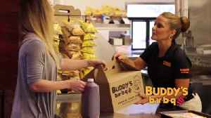 Buddy's BBQ Grand Opening to their East Ridge store off I-75 at Camp Jordan [Video]