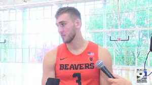 Web Extra: Tres Tinkle on returning to Oregon State, final year with Beavs (10/16/19) [Video]