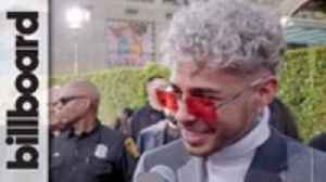 Dalex Says He'd Love to Collaborate with Chris Brown or Wisin & Yandel | Latin AMAs 2019 [Video]