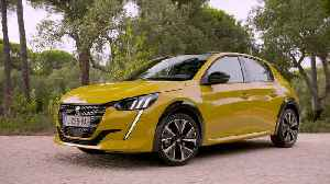 Peugeot 208 GT Line Design in Faro Yellow [Video]