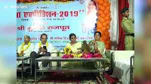 Cheeky monkey gatecrashes poetry conference in northern India to attack guest [Video]