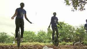 Reinventing the wheel with a Nigerian kids' unicycle coach [Video]