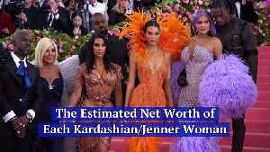 The Estimated Net Worth of Each Kardashian/Jenner Woman [Video]