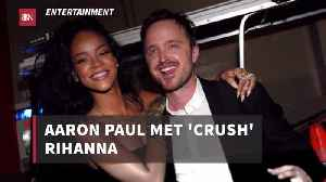 Aaron Paul Has A Crush [Video]