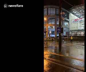 Heavy police presence at Manchester Arndale Centre after 'man with knife' arrested [Video]