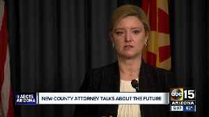 New County Attorney Allister Adel holds her first news conference Thursday [Video]