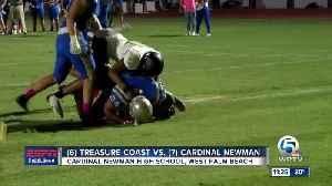 Treasure Coast takes down Cardinal Newman, 42-12 [Video]