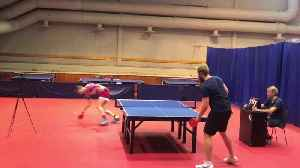 Intense Table Tennis Matches between Friends [Video]