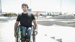 Wheelchair Skater Pulls Stunts You Won't Believe!| BORN DIFFERENT [Video]