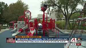 New inclusive playground at Children's Mercy is a 'game changer' [Video]