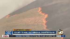 Homes, businesses in high fire risk areas of San Diego County to receive personal disaster plan templates in mail [Video]
