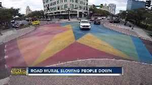 This mural painted in a St. Pete intersection has reduced crashes more than 50% [Video]