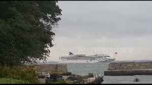 Storm forces two cruise ships to wait off coast of Massachusetts [Video]