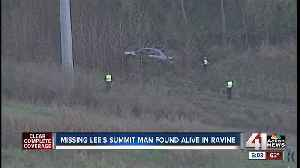 Missing Lee's Summit man found one week later inside crashed vehicle off I-470 [Video]