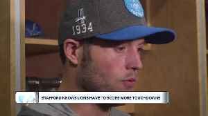 Matthew Stafford not happy despite outside praise [Video]