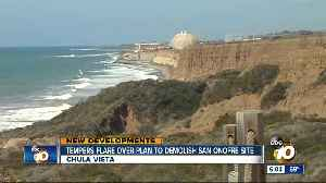 Tempers flare over plan to demolish San Onofre site [Video]