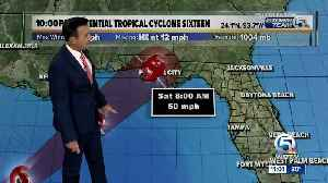 News video: Tropical storm warning issued for parts of Florida Panhandle due to potential tropical cyclone