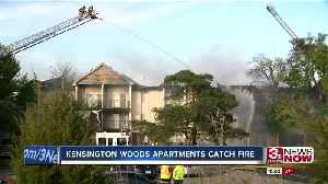 OFD battles two separate apartment building fires [Video]