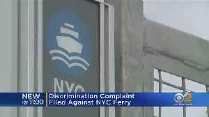 News video: Discrimination Lawsuit Filed Against NYC Ferry