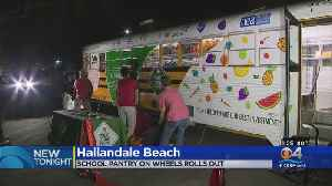School Pantry On Wheels Rolls Out [Video]