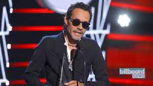 Marc Anthony Receives International Artist Award of Excellence at 2019 Latin AMAs | Billboard News [Video]