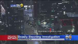 1 Dead Of Gunshot Wounds In Downtown High Rise, Police Investigating [Video]
