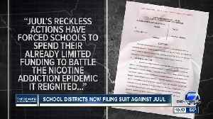 School districts now filing suit against Juul [Video]