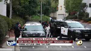 SWAT stand-off in Point Loma [Video]