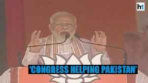 'Pakistan uses Congress' statements at global platforms': PM Modi [Video]