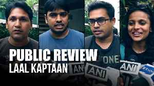 Laal Kaptaan   Public Review   Saif Ali Khan [Video]