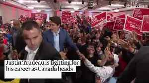 Canadian elections: can Justin Trudeau hold on to power? [Video]