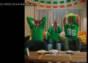 Air New Zealand pokes fun at Irish fans ahead of quarter-final [Video]