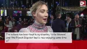 Saoirse Ronan planning career break [Video]