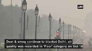 """Air Quality plunges to 'Poor' category in Delhi, locals complain """"feeling suffocated"""" [Video]"""