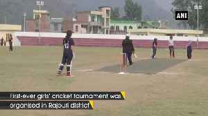 First-ever girls' cricket tournament organised in J-K's Rajouri [Video]