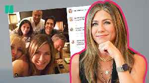 Jennifer Aniston Crashes Instagram With One Post | Good Vibes Only [Video]