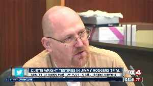 Curtis Wright testifies that he and Rodgers killed Teresa Sievers [Video]