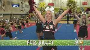 CBS 11 Pep Rally: Central High School Cheerleaders [Video]