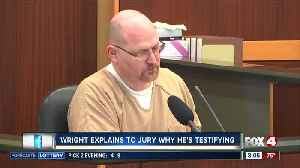 Wright explains to the jury why he's testifying against Rodgers [Video]