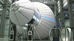 News video: NASA Considering Inflatable Space Habitats for Moon Mission
