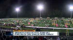 Tournament of Roses Parade comes into focus for Greendale High School band [Video]