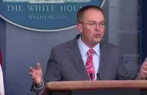 Mulvaney's words on Ukraine undercut impeachment strategy, rattle allies [Video]